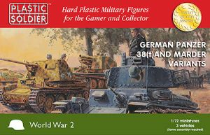 WW2V20019  Pz.Kpfw. 38(t) and Marder options